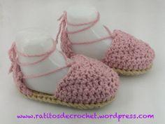 Alpargatas de Verano desde Ratitos de Crochet ......<3 <3 <3 <3