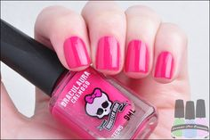 Esmaltes Monster High Kit Cremosos Draculaura