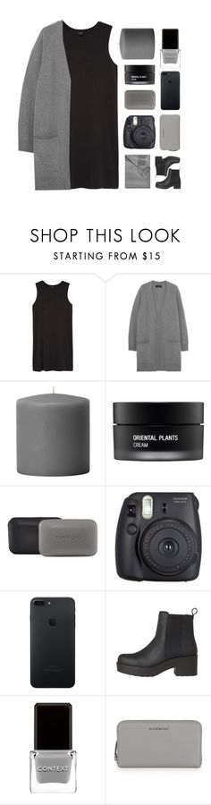 """monochrome"" by tszdori ❤ liked on Polyvore featuring Monki, rag & bone, Koh Gen Do, Tom Ford, Fuji, Context, Givenchy and Sofiacashmere"