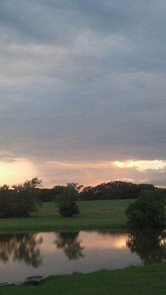 June 2013 East Texas Sky sunset