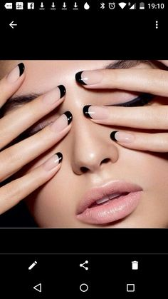 The opposite of a classic French mani