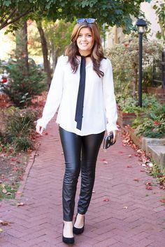 Style MBA:DailyBuzz Style 9x9 - Leather Leggings | Style MBA