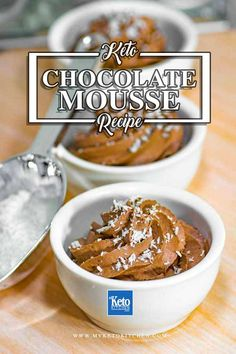 keto chocolate mousse recipe