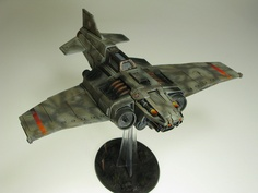 Death Korps Thunderbolt Fighter by T Markham, via Flickr