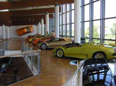 Lamborghini Museum in Italy