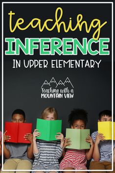 How do you teach your students to make inferences when they read? Can your learners tell the difference between a literal and inferential observation? Learning to make an inference is such an important skill, take a peek at how I teach students in third, fourth, and fifth grades how to make inferences in a way that is sure to set them up for success in years to come. Reading Resources, Teaching Reading, Teaching Ideas, Learning, Inference Activities, 5th Grade Social Studies, 5th Grade Reading, Upper Elementary, Mountain View