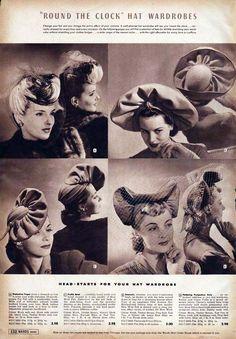 1942 Hats Catalog
