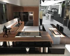 Japanese Kitchen Style Futuristic Modern - pictures, photos, images
