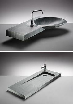 If you're tired of your basic porcelain bathroom sink, you might want to consider a volcanic slate basin from Kirkstone. Kirkstone's line of volcanic slate basins demonstrates how rock.