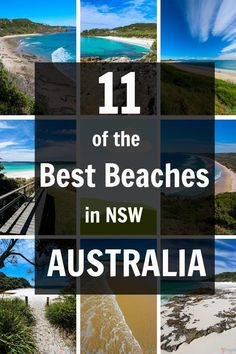 Spend a few weeks in Australia ❤️ These are a need-to-know! 11 Best Beaches in NSW, Australia Vacation Destinations, Dream Vacations, Vacation Spots, Oh The Places You'll Go, Places To Travel, Places To Visit, Travel Route, Visit Australia, Australia Travel