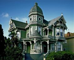 George barber victorian house plans - House and home design Victorian Architecture, Beautiful Architecture, Beautiful Buildings, Beautiful Homes, Classic Architecture, Beautiful Places, Victorian House Plans, Victorian Style Homes, Victorian Houses