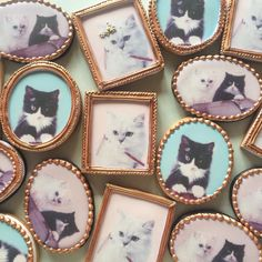 photo frame cookies