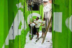 En lo más fffres.co: Boa Mistura regresa a las favelas para llenar de color los callejones de Vila Brasilândia: Este mes de… #Urban_Art