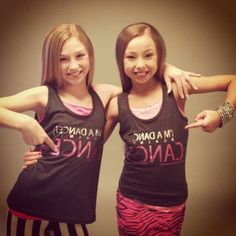 Sophia Lucia and Autumn Miller..These girls are both amazing dancers & such positive roll models for my Sophia :)