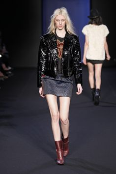ZADIG & VOLTAIRE'S RUNWAY SHOW - FALL/WINTER 13-14 #PFW #fashion #FW1314