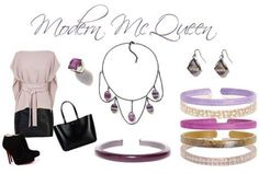 The McQueen choker necklace is next on my wishlist! And of course the matching items. Check this necklace out on the website, isn't it awesome and really different?! http://heatheryoung.mycolorbyamber.com/shop/product/enchanted-mcqueennecklace-amethyst