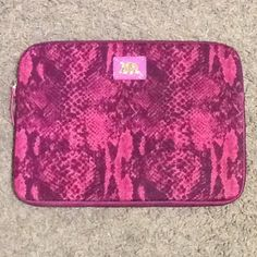 """Spotted while shopping on Poshmark: """"Juicy Couture Pink Python Laptop Sleeve Case""""! #poshmark #fashion #shopping #style #Juicy Couture #Accessories"""