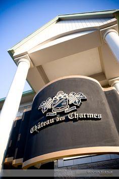 Chateau des Charmes Coat of Arms Coat Of Arms, Boston, Vineyard, Baseball Hats, Fashion, Wine, Baseball Caps, Moda, La Mode