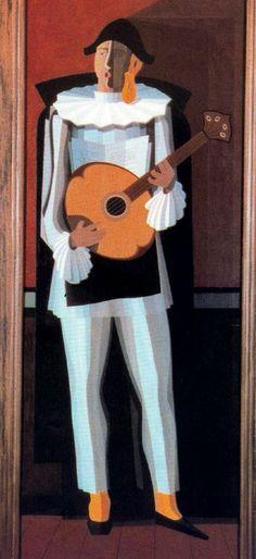The dark-haired maula by Emilio Pettoruti Cuba, 20th Century Painters, Professional Painters, Emilio, Contemporary Paintings, Artist Art, American Art, Cotton Canvas, Picasso