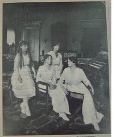 Anastasia, Olga, Marie, and Tatiana Romanov.