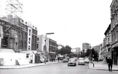 Lancaster Road looking west from Ladbroke Grove, photo RBKC. Old Street, Old London, Lancaster, Nostalgia, Street View, Portobello, History, City, Places