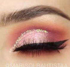Cute Makeup, Pretty Makeup, Makeup Geek, Makeup Art, Makeup Tips, Beauty Makeup, Makeup Looks, Cut Crease Makeup, Skin Makeup