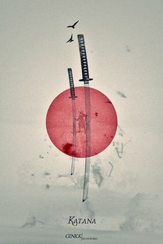 Katana or Nihonto (Japanese name of samurai sword),