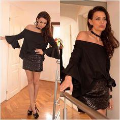 bluzka od L'attore, biżuteria od Biżuteria Thomas - daj się uwieść trendom Shoulder Dress, Blog, Dresses, Fashion, Moda, Vestidos, Fashion Styles, Dress, Dressers