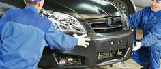This website is for an auto repair shop which repairs car dents, located in Akron, USA.