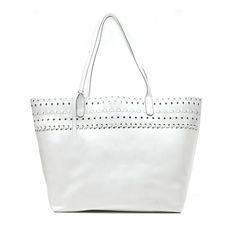 White Tote is a Must Staple for Spring and Summer!