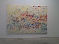 mark bradford paintings | Mark Bradford painting
