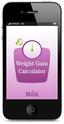 Pregnancy Weight Gain Calculator - stay on track during your pregnancy. Click to download your FREE app...So helpful for staying healthy during pregnancy!