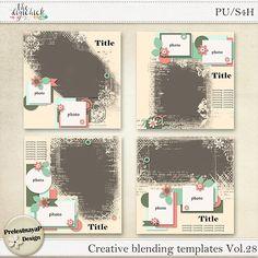 Creative blending Templates Vol.28