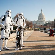 Museum of Science Fiction Deploys Star Wars Characters To Capitol