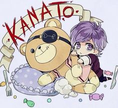 Kanato and Teddy cuteness