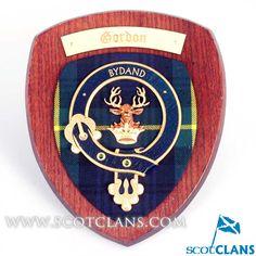 Gordon Clan Crest Plaque