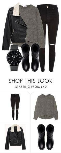 """Untitled #4752"" by laurenmboot ❤ liked on Polyvore featuring River Island, Helmut Lang, Forever 21, Zara and The Horse"