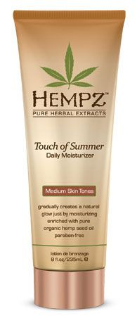 Get a gradual tan from this lotion!