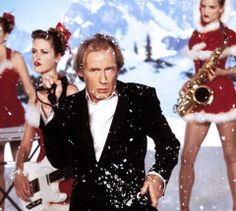 "Billy Mack - 'Christmas Is All Around' . the spoof song performed by the Bill Nighy character in the great Christmas rom-com movie ""Love Actually. Love Actually 2003, What Is Love, Christmas Music, Christmas Movies, British Christmas Traditions, Jukebox, Trailer Peliculas, Pop Rock Music, One Hit Wonder"