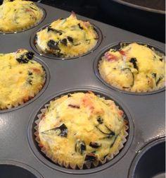 My Mobile Recipes: Gluten-Free Savory Breakfast Muffins