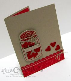 Love You - Perfectly Preserved Stamp Set and the Cannery Set Framelits Dies together - super versatile set!