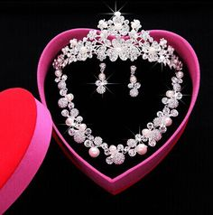 Cheap accessories studs, Buy Quality accessories swimwear directly from China accessories bar Suppliers: Gold Wedding Jewelry, Bridal Jewelry Sets, Bridal Tiara, Bridal Earrings, Rhinestone Necklace, Wedding Tiara Hairstyles, Wedding Tiaras, Wedding Hair, Wedding Dress Accessories