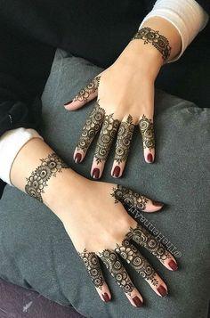 Henna Hand Designs, Mehndi Designs Finger, Simple Arabic Mehndi Designs, Mehndi Designs For Girls, Mehndi Designs For Beginners, Modern Mehndi Designs, Mehndi Design Pictures, Wedding Mehndi Designs, Mehndi Designs For Fingers