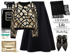 Sena Sever Style Inspiration 4 Combination Proposal - New In Tops Muslim Fashion, Modest Fashion, Hijab Fashion, Fashion Outfits, Womens Fashion, Long Skirt Outfits, Modest Outfits, Moda Emo, Hijab Outfit
