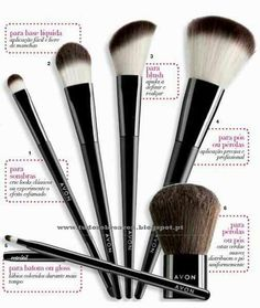 Makeup brushes for flawless application. www.yourAVON.com/erikanicholson