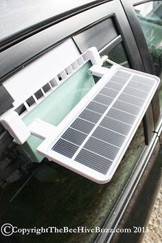 The Bee Hive Buzz: Cool Your Car With The Sonray Kulcar Solar Powered Car Ventilater- Review  GIVEAWAY!