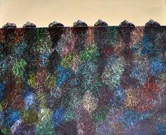 Islas flotantes 100 cm x 80 cm Óleo-Lienzo 2012 3.000€  #arte #art #artecubano #cubanart #galerías #galleries #pintura #painting #EdelBordon