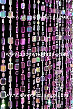 Wide X Long: Our Wonderful Heavy Duty Acrylic Beaded Curtains Are A Perfect  Addition To Any Room! Use In The Place Of Regular Doors, Closet Doors, ...