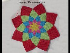 Jacke FEUERRAD als TCAL › Redaktion Hug Love Crochet, Crochet Yarn, Knooking, Tunisian Crochet Patterns, Crochet Mandala, Crochet Videos, Lana, Stitch Patterns, Sheep