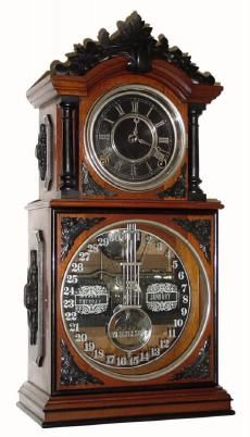 "Antique Ithaca Calendar Clock Company ""Parlor Calendar 31/2"" Model Clock http://www.antiqueclockspriceguide.com/pages/clock9732.php"